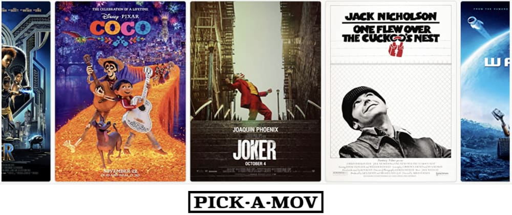 Cover image for Movie comparison tool you may like (and my fresh portfolio as a bonus!)