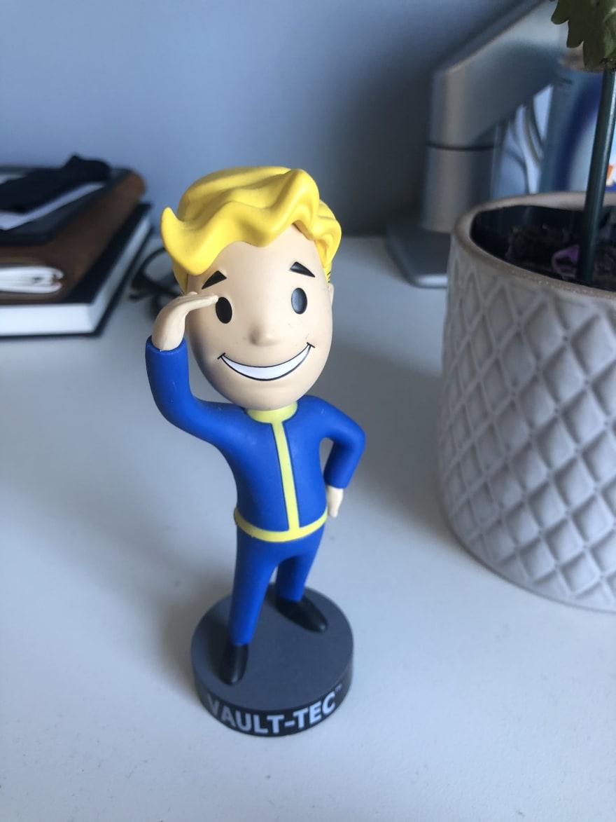 Vault Boy figurine