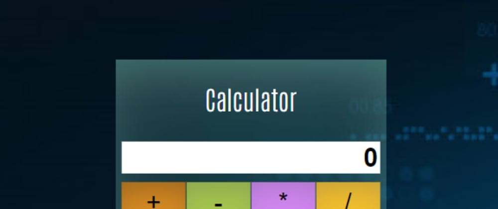 Cover image for How to develop A simple js calculator using HTML CSS and Javascript