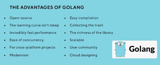 golang benefits