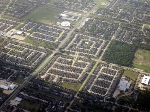A picture of the suburban neighborhood you're looking for