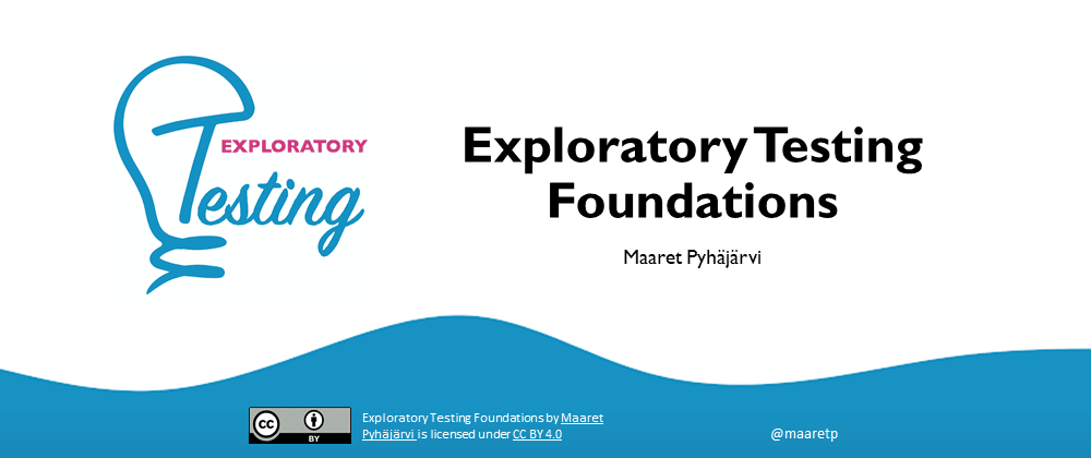 Cover image for Exploratory Testing Foundations