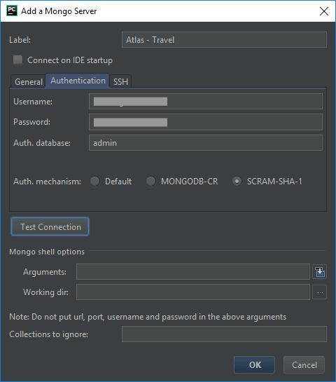 MongoDB Plugin Authentication