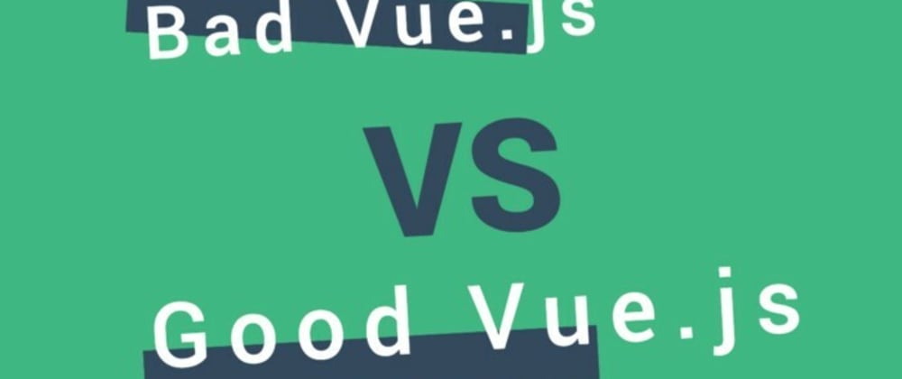 Cover image for Before - After - A practical guide to improving UI components, readability, and reusing code. HTML, CSS, JS, Vue.