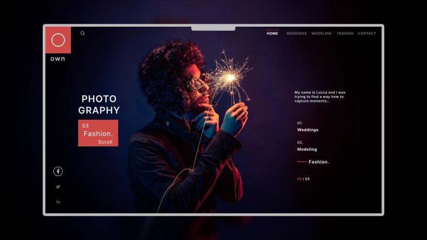 Portfolio Landing Page by Code Savvy