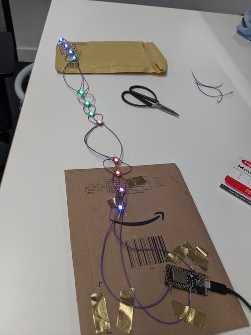 second soldering attempt