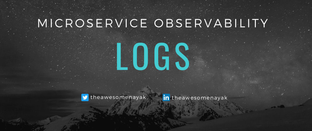Cover image for Microservice Observability - Logs