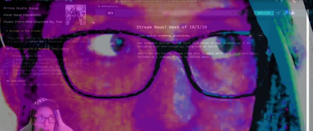 Cover image for Unique reactions to Twitch raids [Live Coding Recap]
