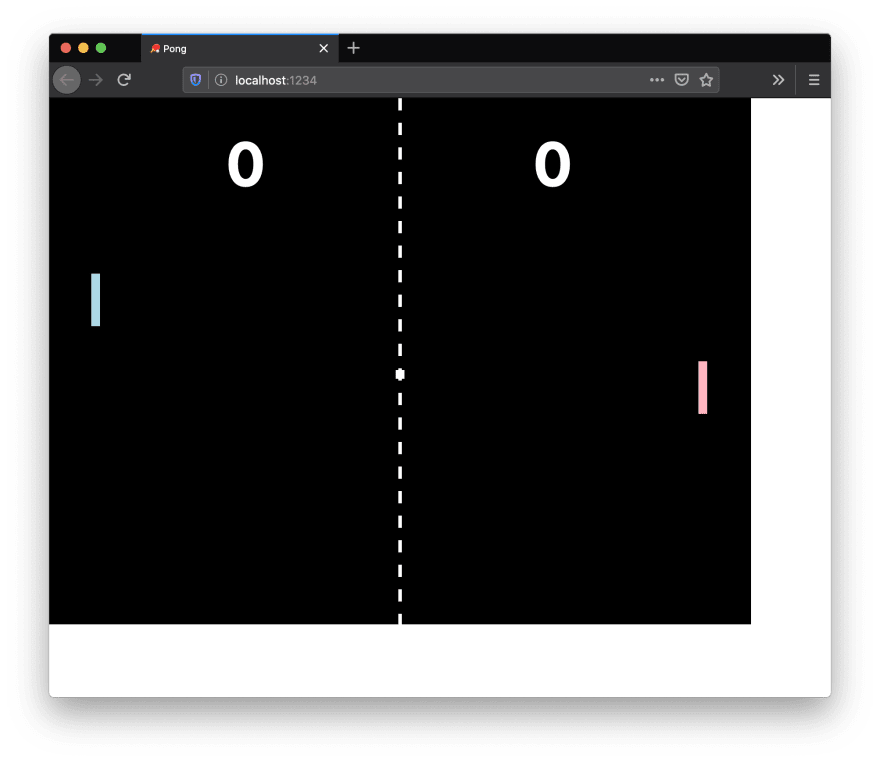 Pong Elements in the Browser