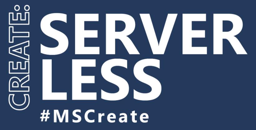 Create:Serverless