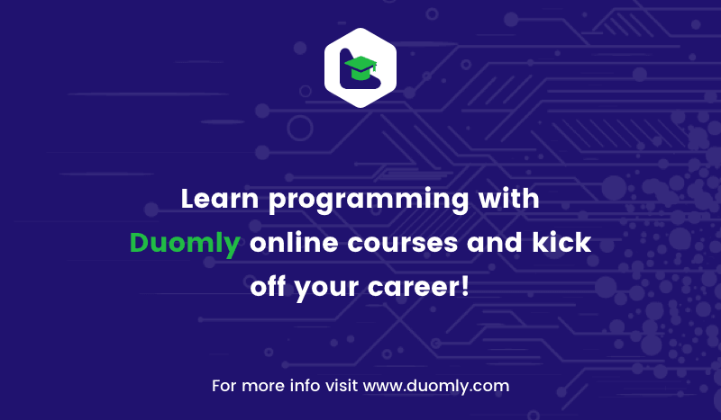 Duomly - programming online courses - thank you