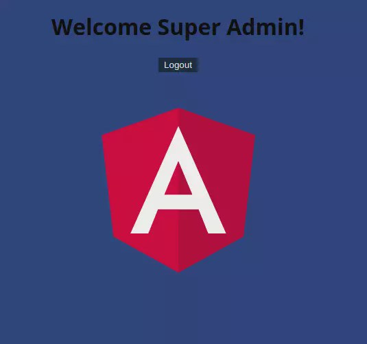Angular 10/9 Authentication Form