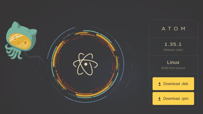 atom download page fossnaija
