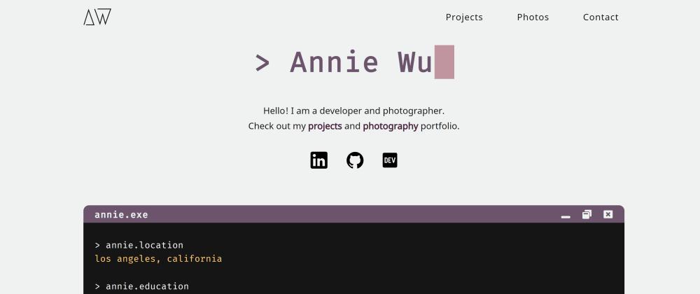 Cover image for Finally Created My Portfolio Website