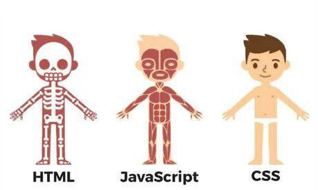 Html, Css and JavaScript illustration