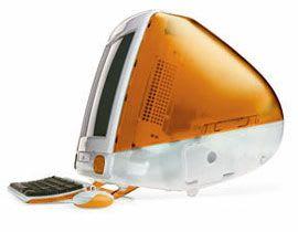 Orange Apple iMac