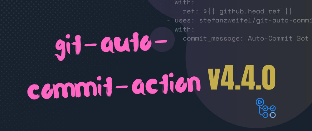 Cover image for Review of the git-auto-commit-actio