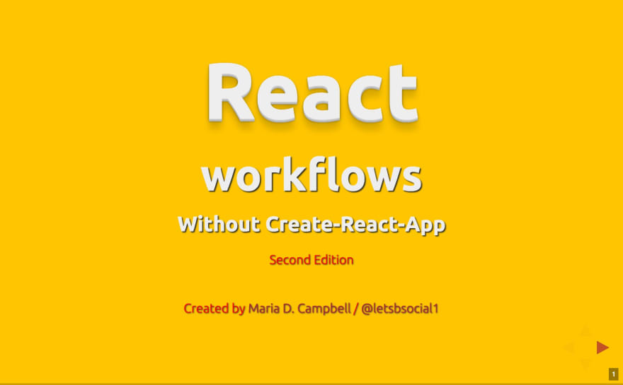 react workflow second edition