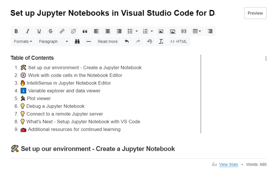 Blog on Setting up the Jupyter Notebook with VS Code