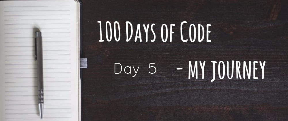 Cover image for Day 5 - 100 days of Coding - Python - Add text into Image
