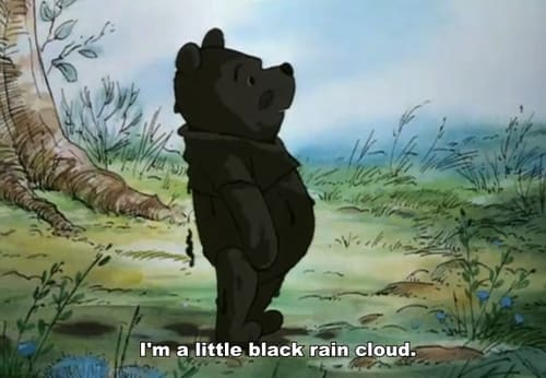 Pooh the Little Black Rain Cloud