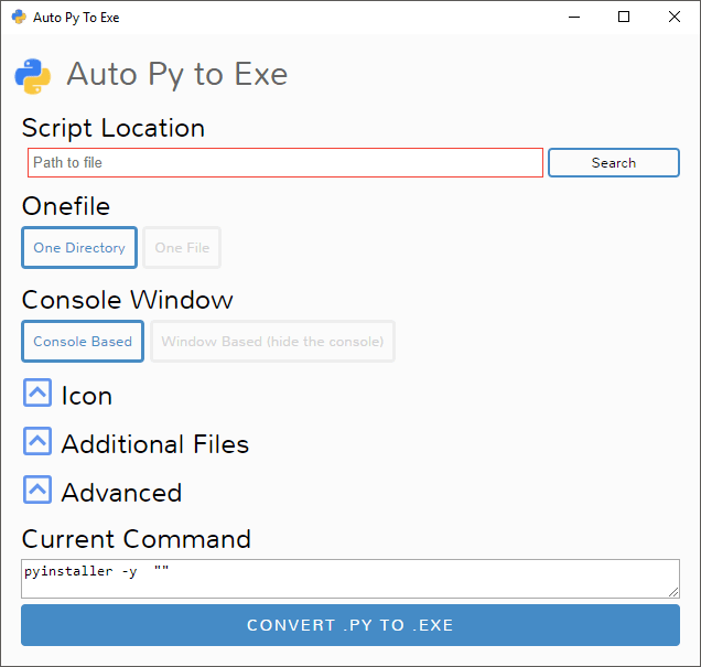 How to convert  py to  exe? Step by step guide  - DEV