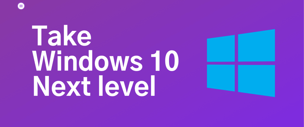 Cover image for Take Windows 10 to Next Level with PowerToys 🔥