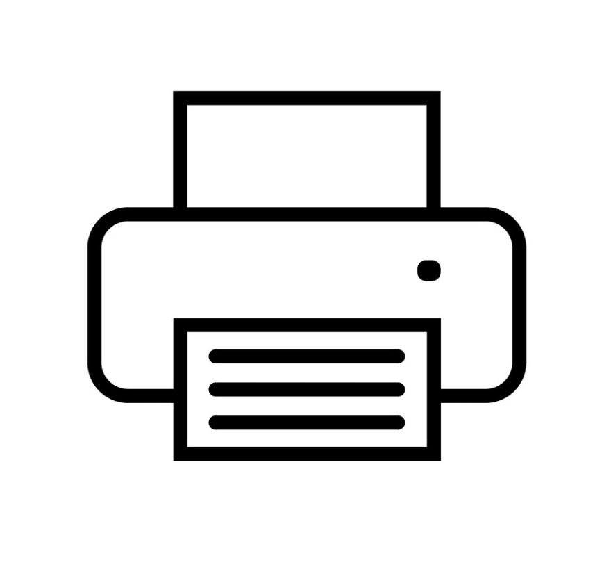 A printer icon