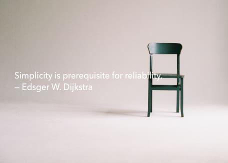 dijkstras quote simplicity