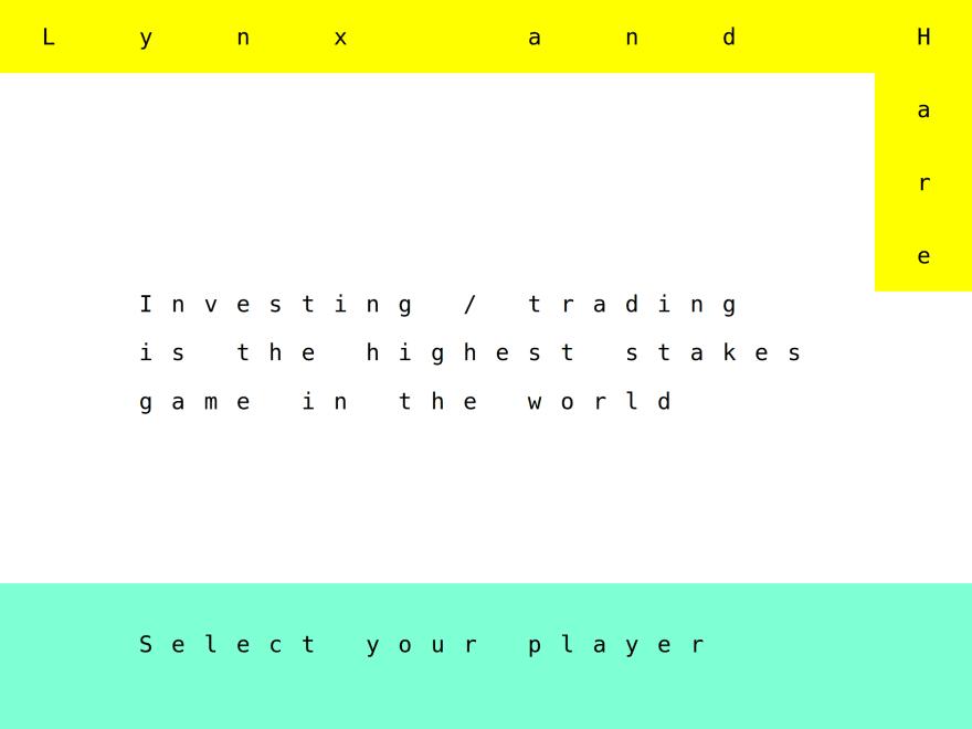 Type on a matrix