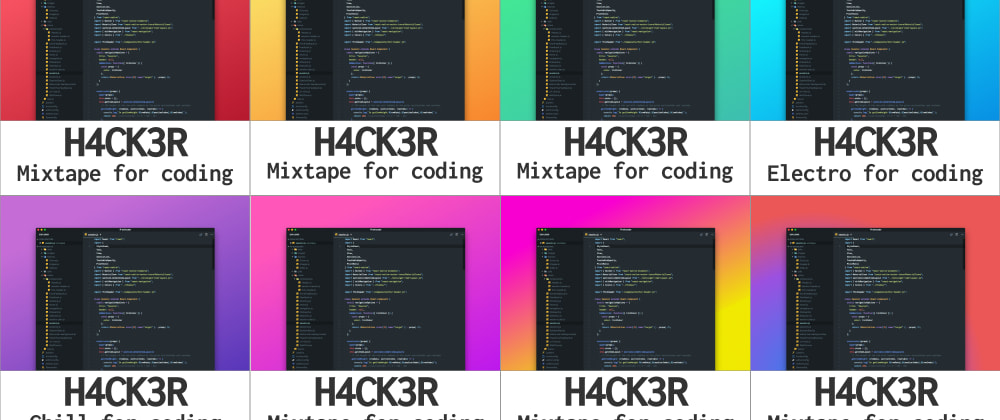Cover image for Spotify Mixtapes For Coding