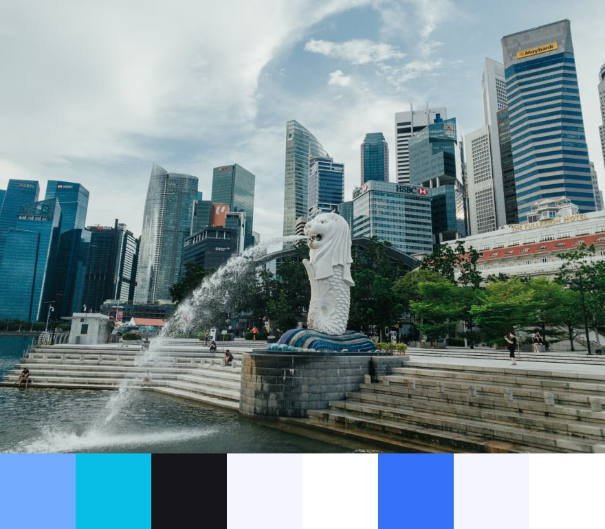 merlion color swatch