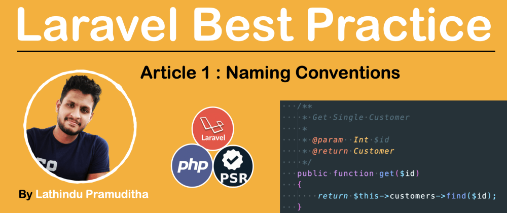 Cover image for Laravel Best Practice [Coding Standards Part 01 ] 🧑‍🦰👩‍🦰