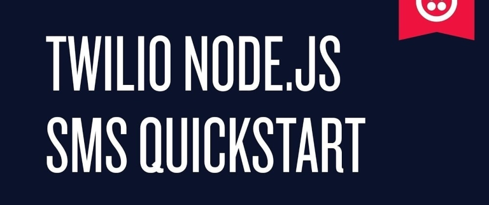 Cover image for How to send a sms in Node.js