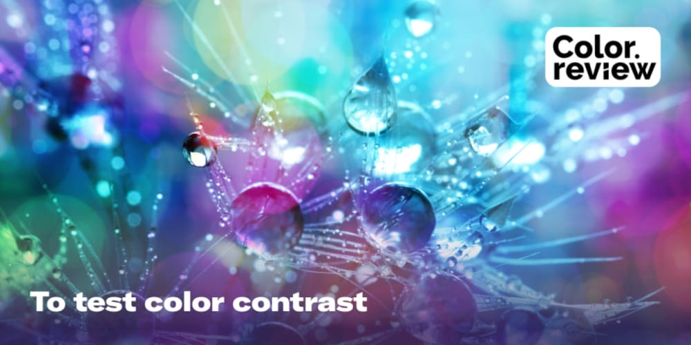 Color Review' is a tool to test color contrast - DEV