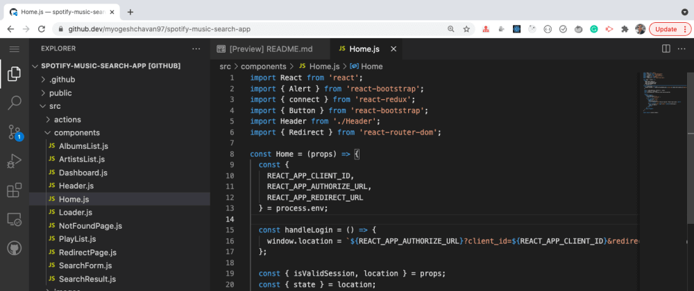 Cover image for GitHub's In-Built New Feature: Quickly Open Any Repository In Visual Studio Code