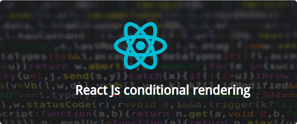 """Cover image for Conditional rendering in React made easier and reusable """"no library"""""""