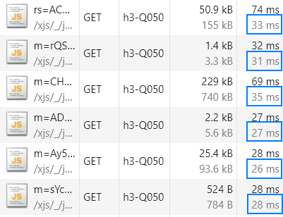 JS file load times