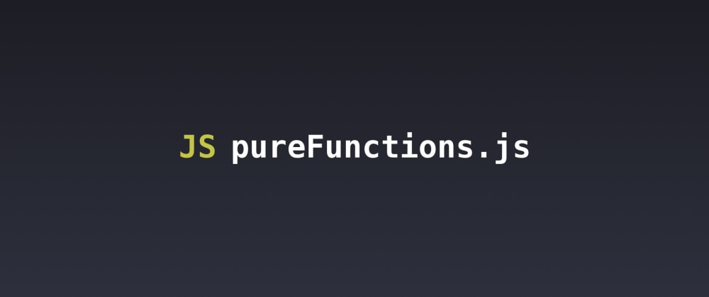 Cover image for What is a Pure Function?