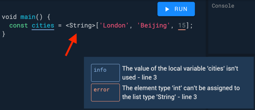 Use type annotations for safer code