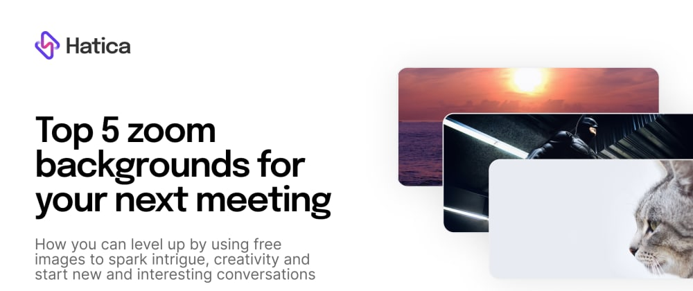 Cover image for Top 5 zoom backgrounds for your next meeting
