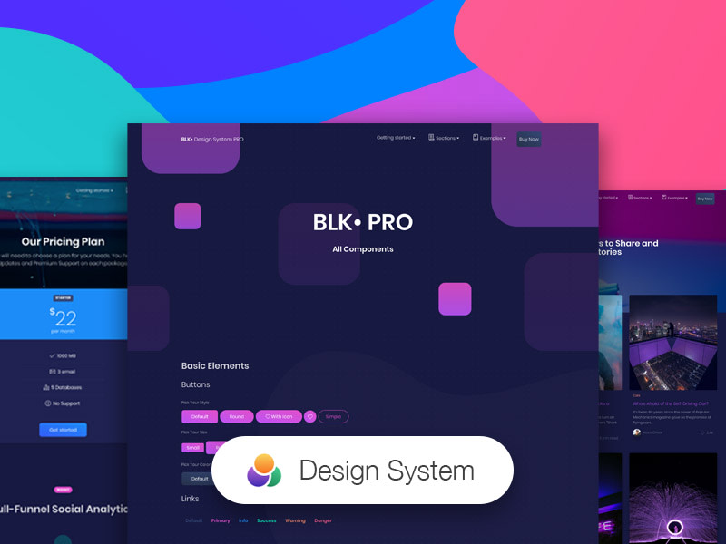 BLK Design System Pro – Creative Tim