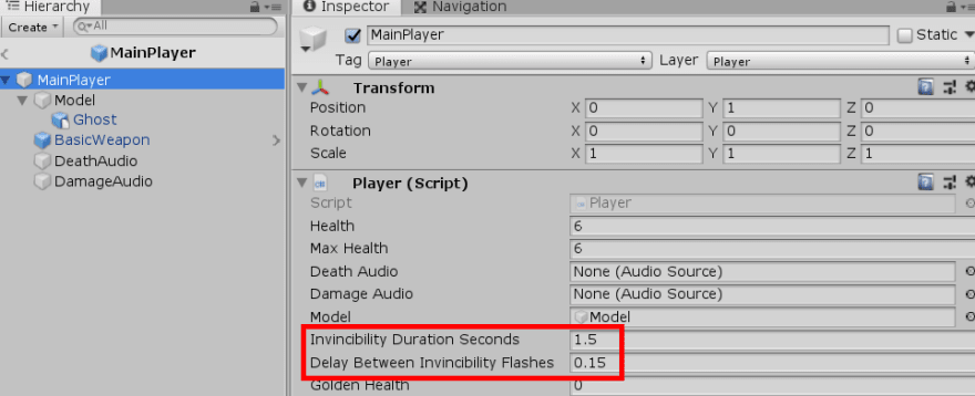Initializing serialized fields via the inspector pane in Uniy.