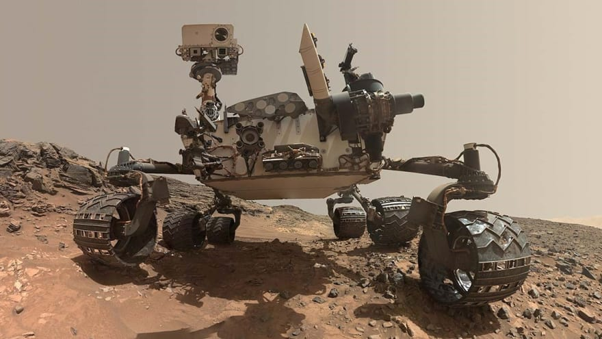 Picture of Rover the Mars Robot