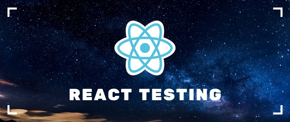 Cover image for React Testing Crash Course