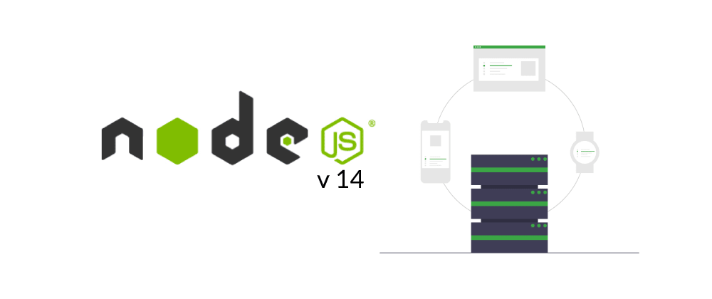 Cover image for  What's new in Node.js v 14