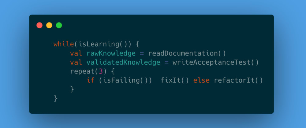 Unit test your learning  💡