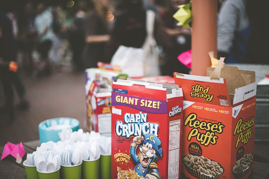 Photo of open cereal boxes by Samantha Gades on Unsplash.com