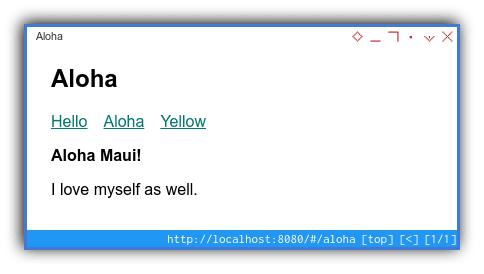 Vue Router: Hello World
