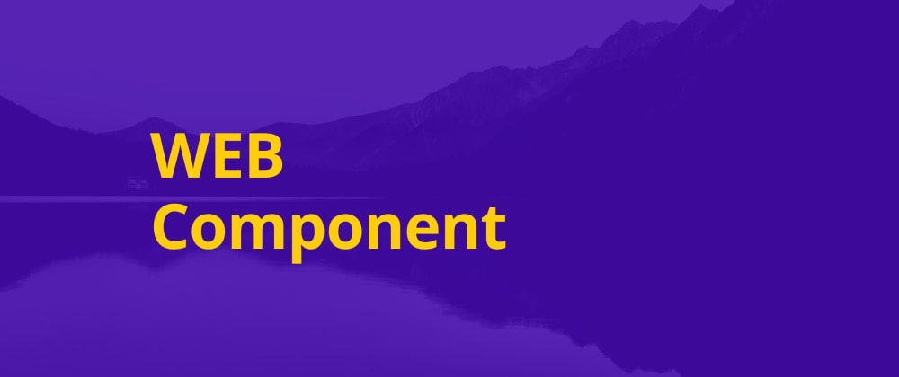 Cover image for Web Components with JavaScript